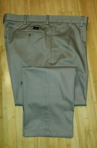 Dockers mens casual dress pant classic fit size 40 Beige