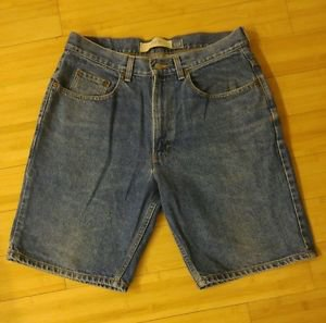 Gap easy fit mens bermuda jean shorts size 34
