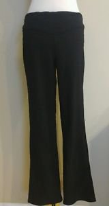 Womens stretch pant trouser rlastic waist 32 to 36 black
