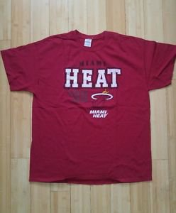 Gildan miami heat season 1988 size XL burgundy