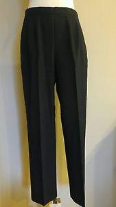 Womens trouser casual pant waist 30 black