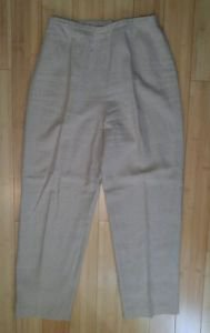 David warren womens dress pant size 28 beige