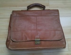 Colombian leather briefcase men business bag