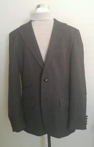 Zara mens suit jacket with elbows pads size 40