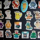 POKEMON STICKERS (12 stickers) FREE SHIPPING