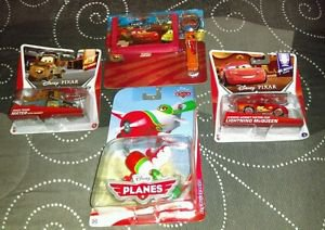 Disney Pixar Cars Diecast Lot Of 3 & Wallet Set *Brand New*