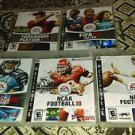 Lot Of 5 PS3 Games Excellent Cond. *Complete*NCAA Football 09 + More