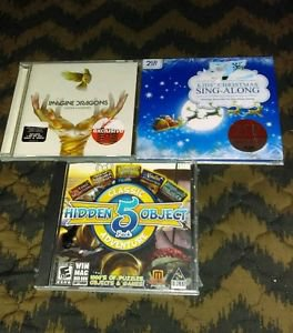 Lot Of 3 CD's Music & PC Game Different Genres *Brand New Sealed*