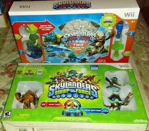 2 Skylanders Starter Pack Bundles Trap Team & Swap Force (Wii, 2014) *Brand New*