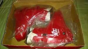 *New* Nordica Ski Boots (Atomic Red) ROSSIGNOL, Men's Size 28.0 *4055* N 701