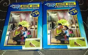 Lot Of 2 Misty Mate Cool Patio 6 Nozzle 10' Mist System Never Used *BRAND NEW*
