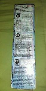 Bosch  Refrigerator Water Filter Replacement Cartridge EVOLFLTR10 *New* Open Box