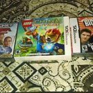 3 3DS & DS Games Brand New LEGO Chima Laval's Journey, Iron Chef + More* Sealed*