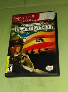 Conflict: Desert Storm - PlayStation 2 PS2 - Complete (Greatest Hits) **GUC**