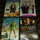 Lot Of 4 DVD Movies & Famous Sitcoms 1 Sealed, Others Great Used Condition Works