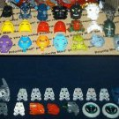 Lot 23 Lego Bionicle Mask *Some Rare* & 7+ lbs. Parts, Pieces, Weapons, & More
