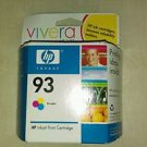 HP 93 Tri-Color Inkjet Print Cartridge - Genuine C9361WN *Brand New Sealed*