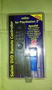 Saitek DVD Remote Controller H09 (Playstation 2, 2000)  **New Factory Sealed**