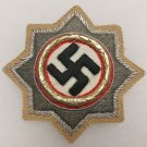 WWII GERMAN CROSS IN GOLD- AFRIKA KORPS CLOTH VERSION