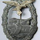 WWII GERMAN LUFTWAFFE PANZER BATTLE BADGE