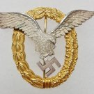 WWII GERMAN LUFTWAFFE COMBINED PILOTS / OBSERVERS BADGE