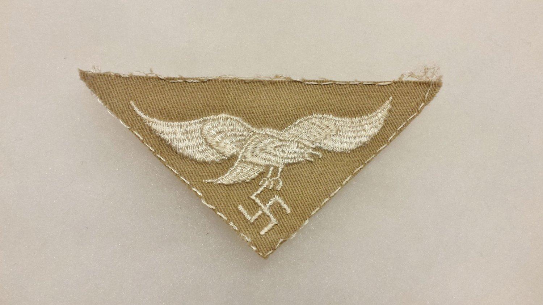 WWII GERMAN LUFTWAFFE AFRIKA KORP BREAST EAGLE