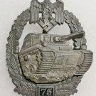 WWII GERMAN PANZER ASSAULT BADGE - SPECIAL GRADE 75