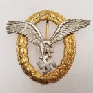 WWII GERMAN NAZI LUFTWAFFE COMBINED PILOT/OBSERVER BADGE