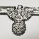 WWII GERMAN SS VISOR CAP EAGLE
