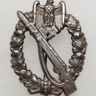 WWII GERMAN INFANTRY ASSAULT BADGE - SILVER GRADE