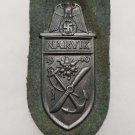 WWII GERMAN NAZI WEHRMACHT HEER (ARMY) ISSUE NARVIK SHIELD
