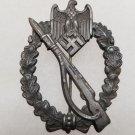 WWII GERMAN NAZI INFANTRY ASSAULT BADGE - SILVER GRADE
