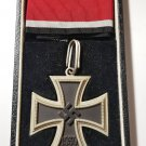 WWII WW2 GERMAN NAZI KNIGHTS CROSS OF THE IRON CROSS - CASED