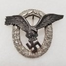 WWII GERMAN NAZI LUFTWAFFE PILOTS BADGE