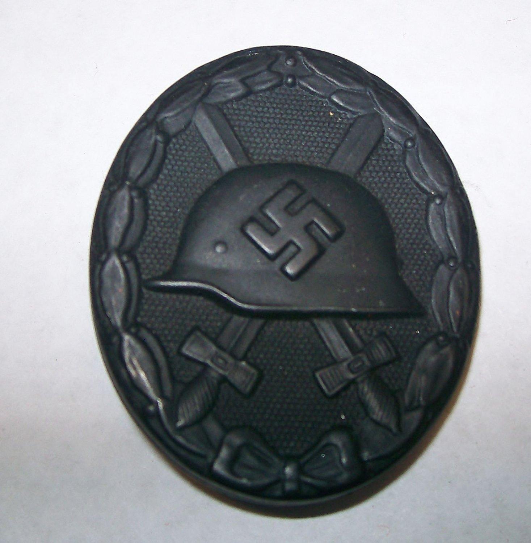 WWII GERMAN WOUND BADGE - BLACK GRADE