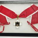 WWII German Social Welfare Cross (Red Cross) Neck Award - 1st Class