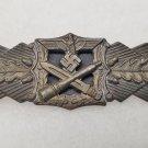 WWII GERMAN CLOSE COMBAT CLASP - BRONZE GRADE