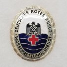 WWII GERMAN RED CROSS DRK WATER RESCUE SERVICE BADGE - RARE