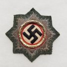 WWII GERMAN CROSS IN GOLD IN CLOTH