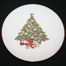 Jamestown China Christmas Treasure Holiday Tree Salad Plate MULTIPLES AVAILABLE
