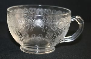 "Vintage Hazel-Atlas ""Florentine #1"" Tea Cup MULTIPLES AVAILABLE"