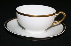 """Paul Muller Bavaria Turin """"The Baronial"""" Cup & Saucer MULTIPLES AVAILABLE"""
