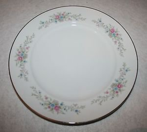 Florenteen Fantasia Fine China Dinner Plate Blue Pink MULTIPLES AVAILABLE