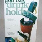 Novelty Golf Gift Golf Bag Drink Holder New in Box No Reserve!
