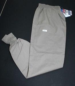 NWT Crest Scrub Pants XS Womens Nutmeg Light Brown Nursing Vet Style 131