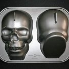 Nordic Ware Haunted Skull Pan Halloween 3D Cake Pan Mold