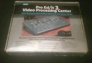 SIMA Pro Ed/it 3 Video Processing Center VCR EDIT NOS