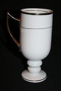 Vintage Porcelaine Empire Irish Coffee Pedestal Cup Mug MULTIPLES AVAILABLE