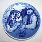 Vintage 1985 Porsgrund Norway Julen Collector Plate Christmas in the Country 7""