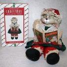 House of Lloyd Christmas Around The World  Porcelain Grannie Flo Doll Bunny MIB